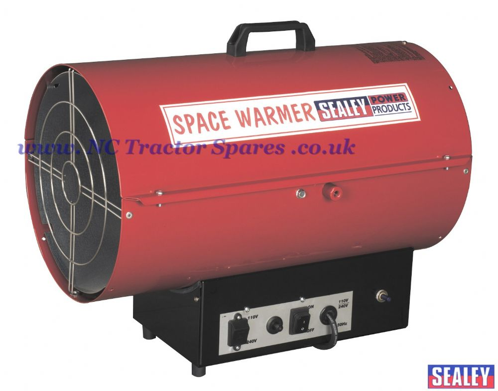 Space Warmer Propane Heater 78,500-187,800Btu/hr 110/230V